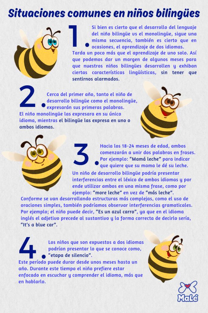 puntos comunes bilingües
