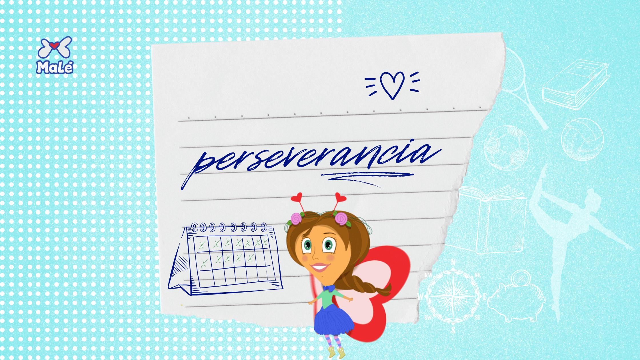 Enseña perseverancia a tus niñas y niños